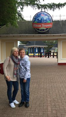 Beating anxiety at Alton Towers