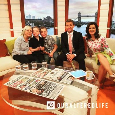 Our interview on Good Morning Britain