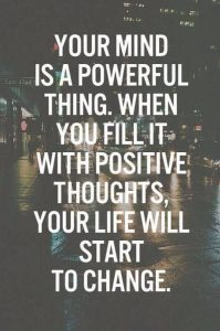mindset positive quote