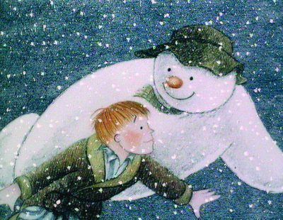 The Snowman review the-snowman-and-boy-in-flight
