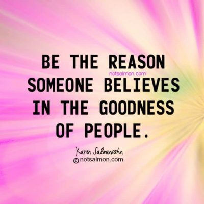 Random Act of Kindness- quote