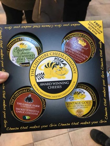 cheshire cheese company for cheese tasting