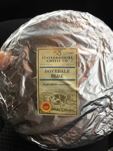 dovedale blue for cheese tasting