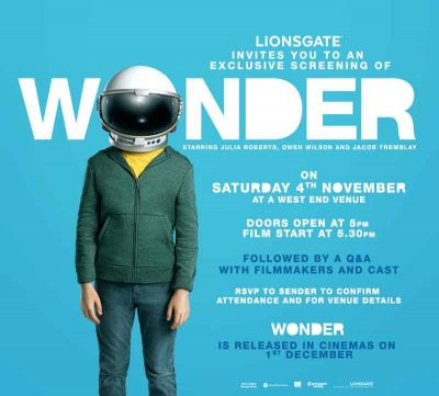 Wonder invitation