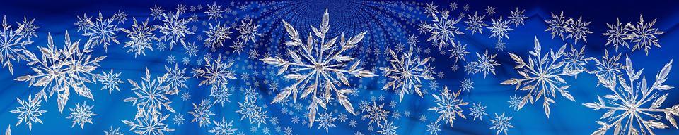 snow globe snow flakes