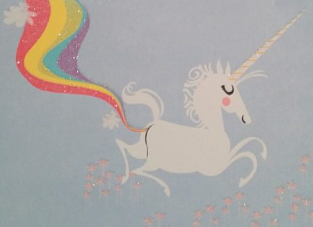 Rainbow farting unicorn